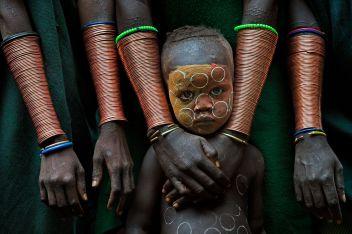 David Nam Lip Lee, Kid With Hand Crafts, 2018, Ethiopia