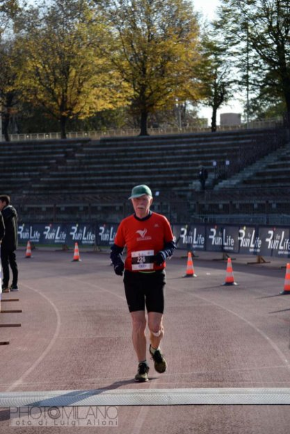 Luigi Alloni, Run For Life, 161