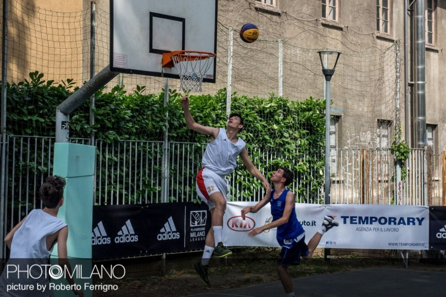 Foto adidas Playground Milano 2019: il basket 3×3 visto da