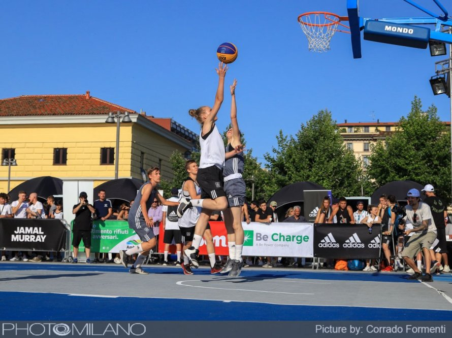Basket adidas Playground Milano League: The Minals