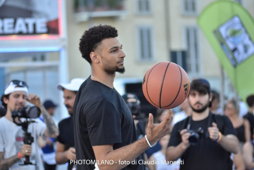 Jamal Murray ad adidas Playground Milano League, foto di Claudio Manenti