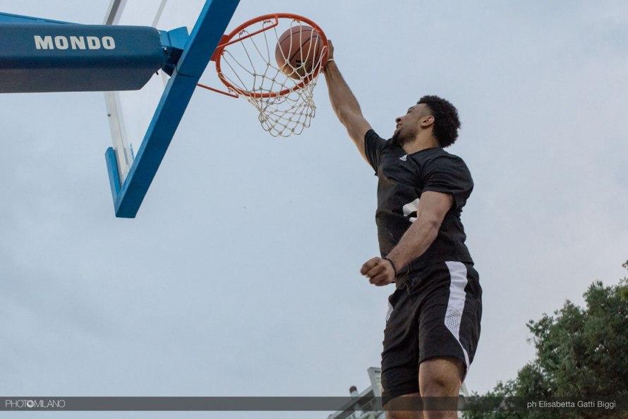 Jamal Murray ad adidas Playground Milano League, The Minals, foto di Elisabetta Gatti Biggì