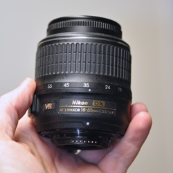 Nikon 18-55mm Wide Angle Zoom Lens