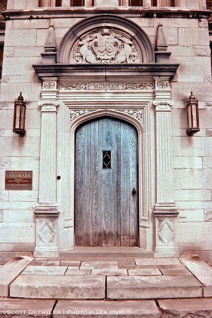 Hartwood Mansion Front Door