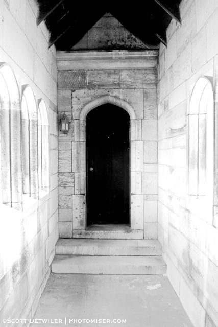 Hartwood Mansion ghostly door