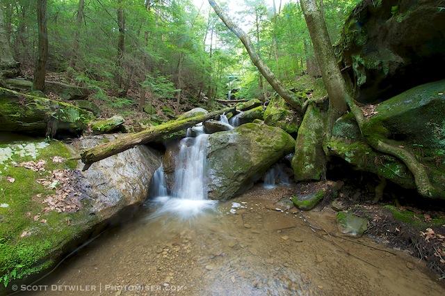 Kildoo Falls, McConnells Mill State Park, Pennsylvania