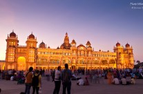 The majestic Mysore Palace