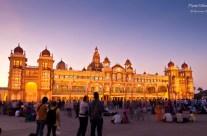 The majestic Mysore Palace