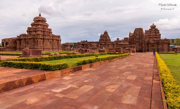 Temple complex at Pattadakal