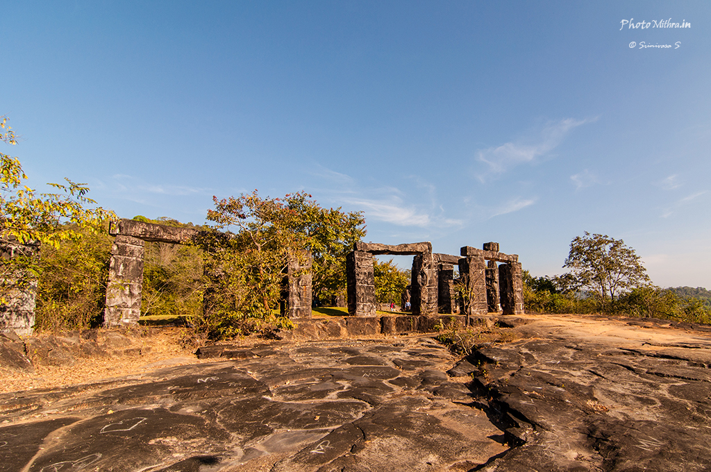 Rock monuments at Kavishaila