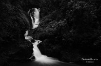 Vibhooti falls – art mode
