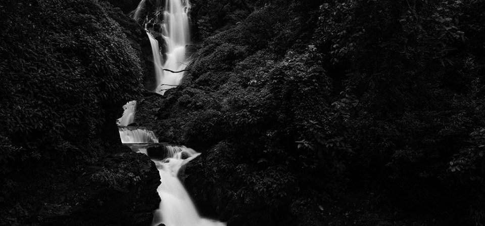 Vibhooti falls – art mode