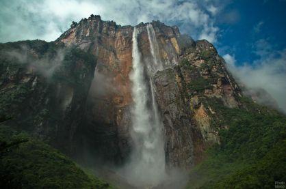 Angel falls guayana Venezuela