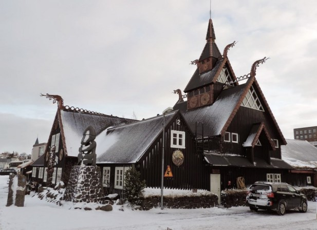 L'hôtel Viking, très typé