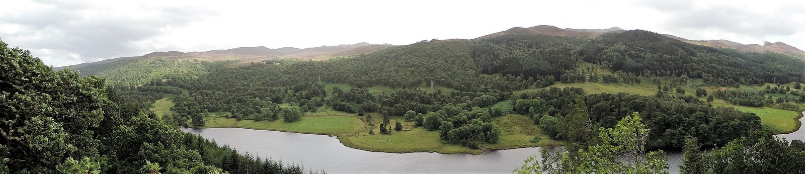 Voyage, voyage: Queen's view et Pitlochry (Ecosse)