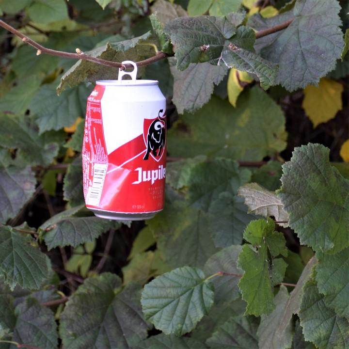 Une manière de mettre les déchets en évidence...