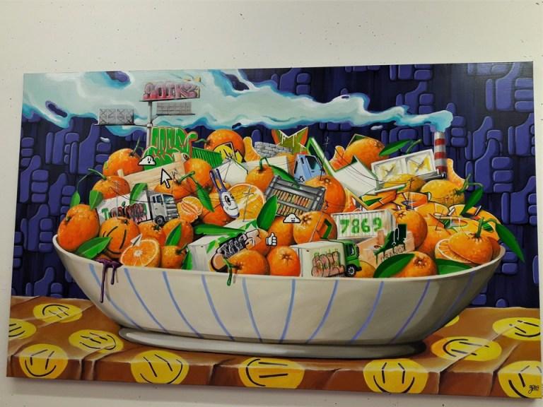 Coupelle d'oranges
