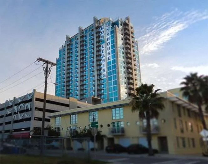 Nov 8 2017 Skyhouse Channelside Apartment High Rise From East Whiting Street And