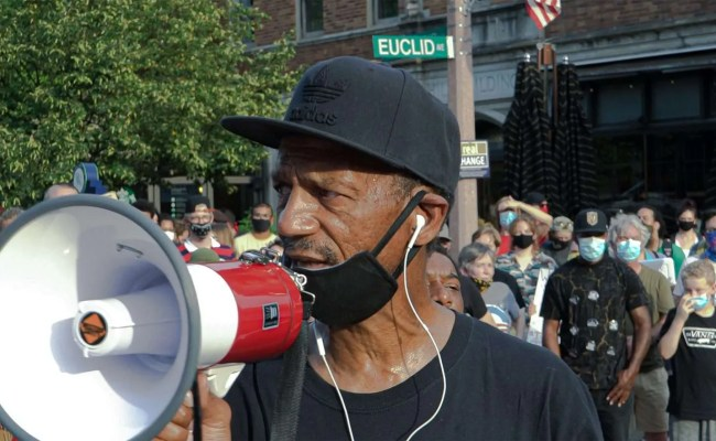 Reverend Darryl Gray Fighting For Our Rights In Cwe St