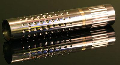 Custom Titanium AA Light