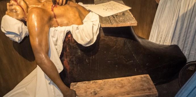 Marat's bath tub