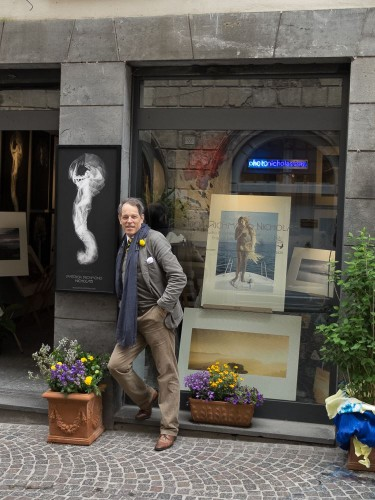 Patrick outside Gallery