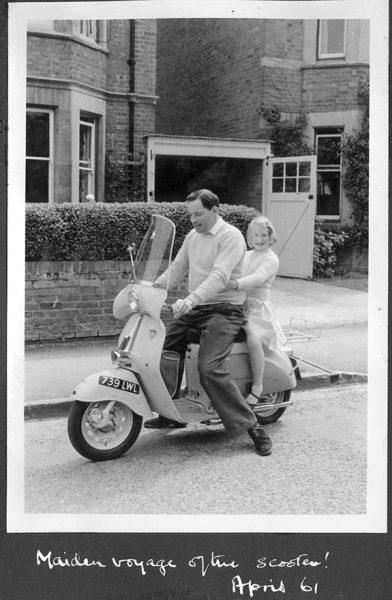 1961 Capri scooter