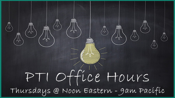 PTI Office Hours