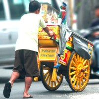 "Street Photography: ""Mamang Sorbetero"" (The Ice Cream Man)"