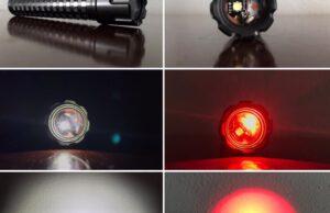 denkiman808 two channel e series flashlight