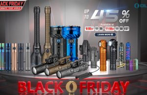 Olight Black Friday Sale and New Products