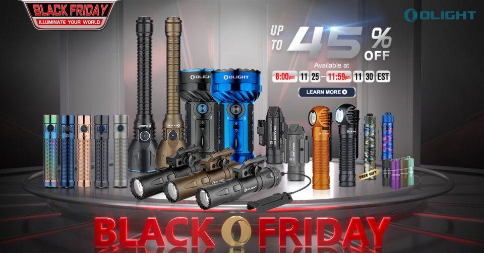 Olight Black Friday Sale 2020