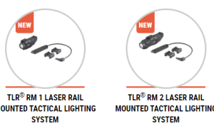 Streamlight TLR RM1 and TLR RM2 lweapon lights with lasers
