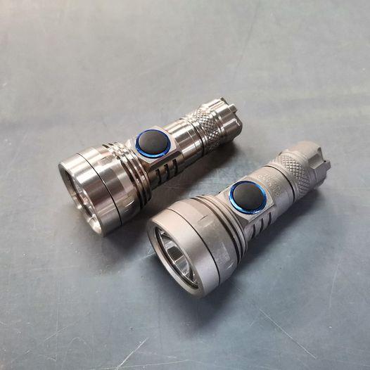 Lumintop GT Nano Titanium  keychain long range flashlight