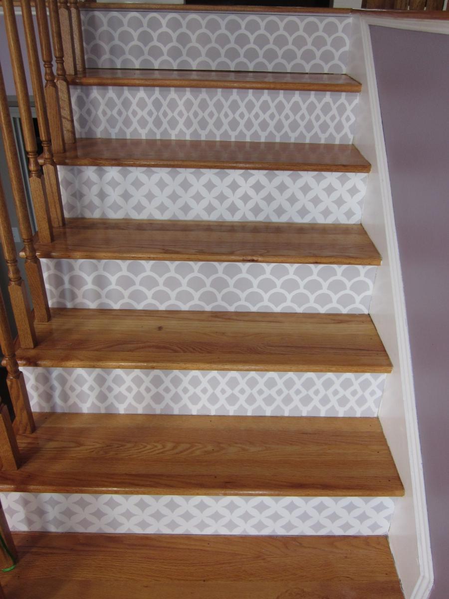 Stair riser photos