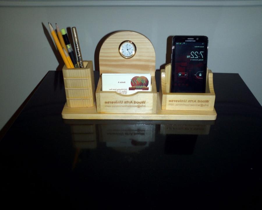 Photo desk accessories personalized