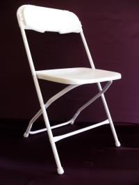 White samsonite chair photos