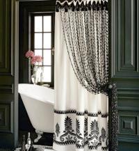 Bathroom shower curtain ideas photos