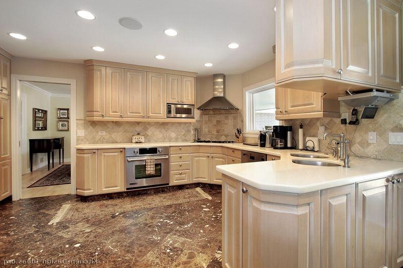Whitewash Kitchen Cabinets Photos