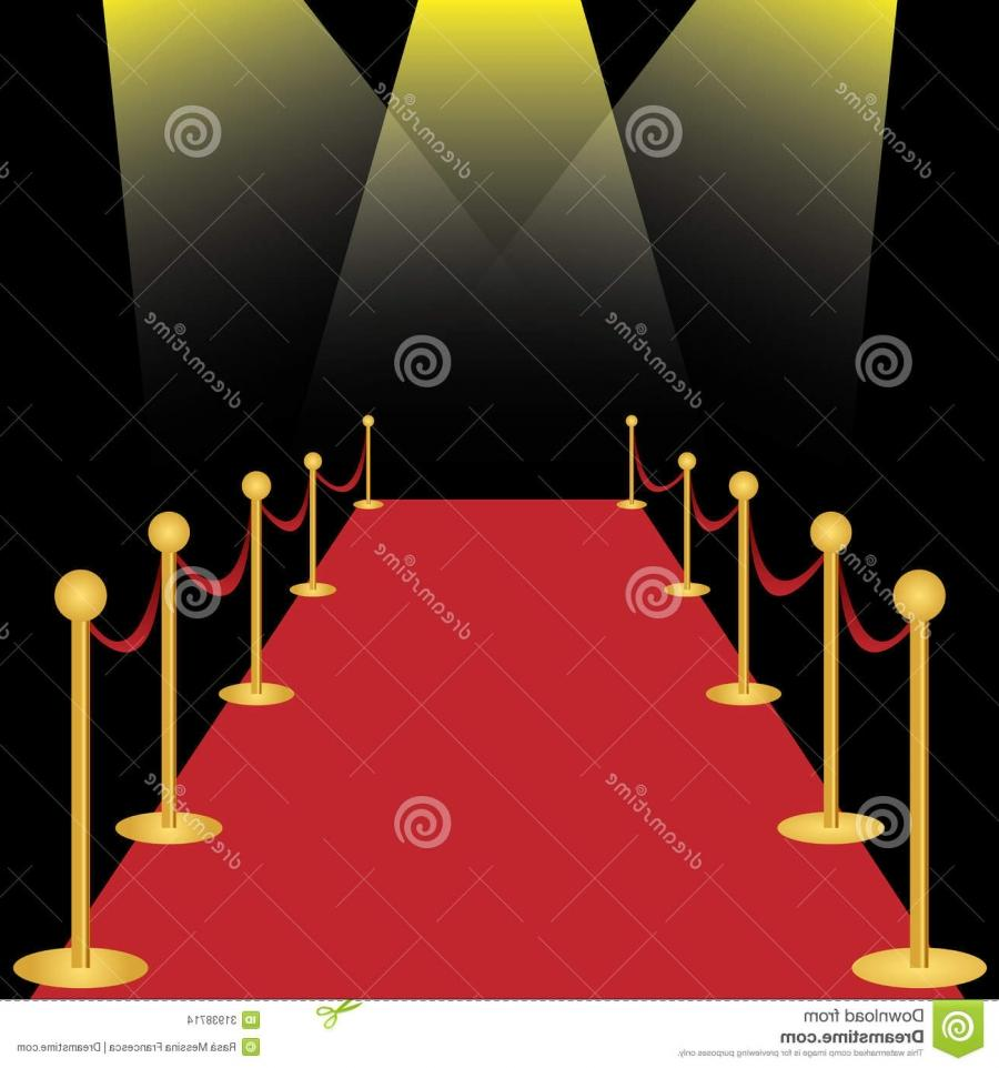 Red carpet photo shoot background