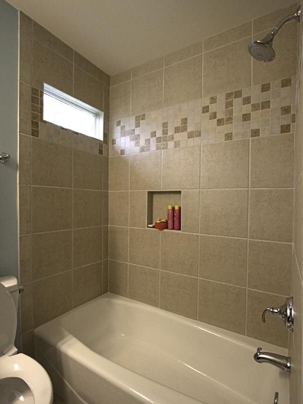 Ceramic tile tub surround photos