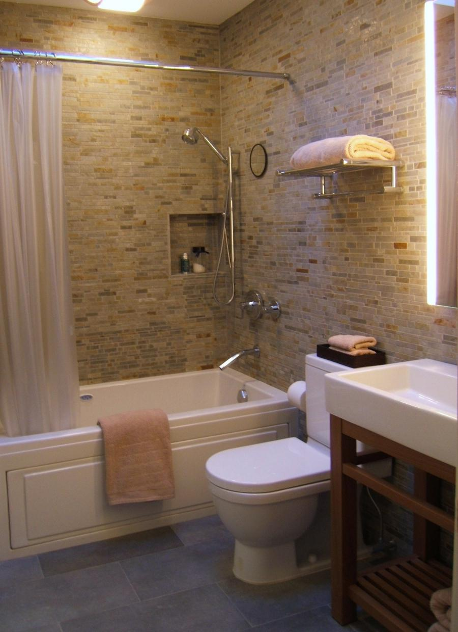 Photos of renovated small bathrooms