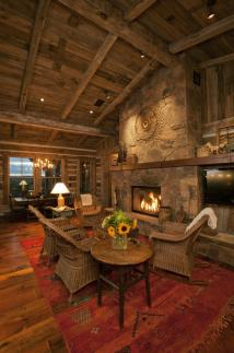 Western Interior Design Homes