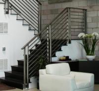 Contemporary stair railings interior photos