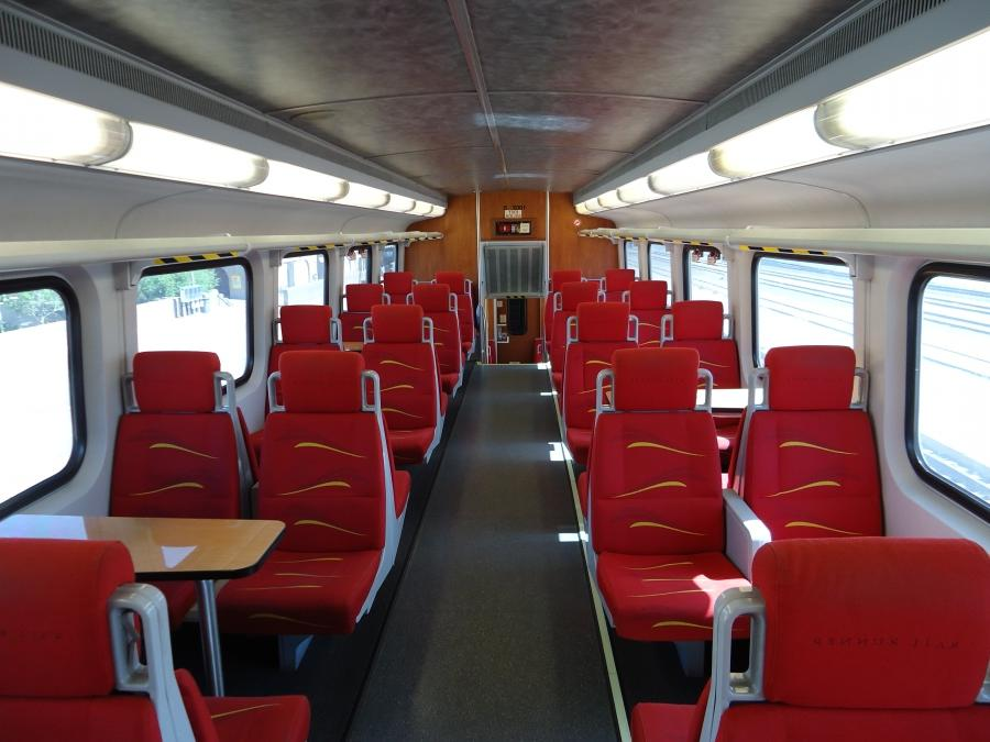 Marc Train Interior Photos