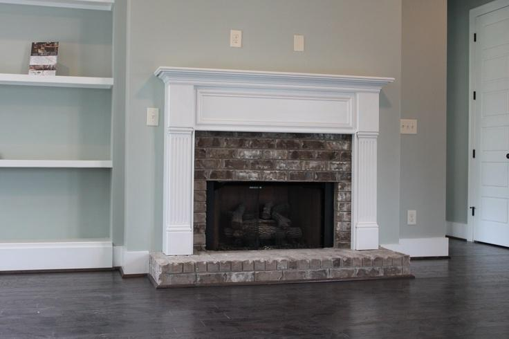 Raised hearth fireplaces photos