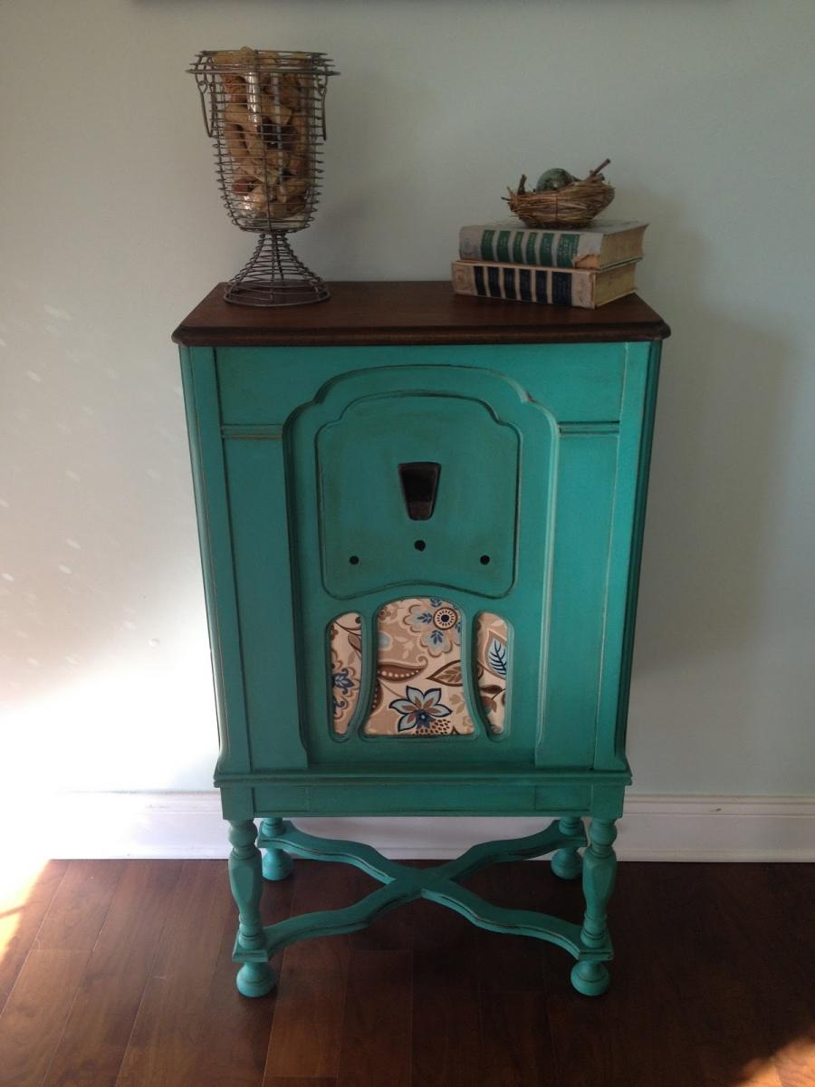 kitchen cabinet restoration pull out drawers antique radio photos