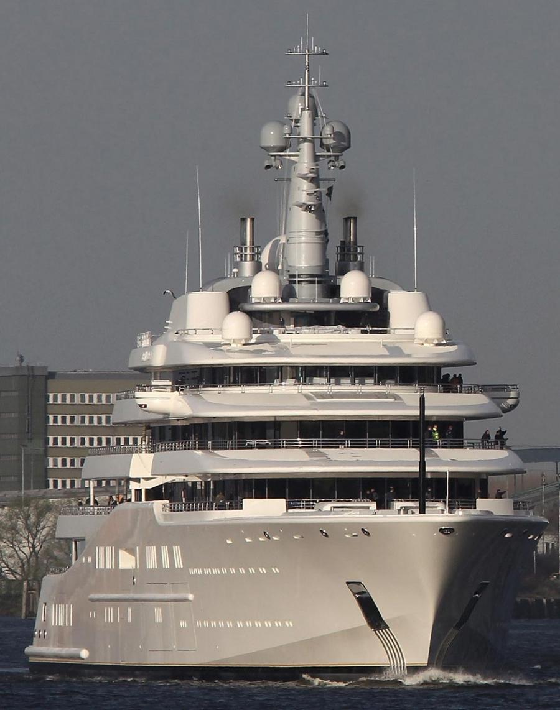 Roman abramovich yacht eclipse photos interior