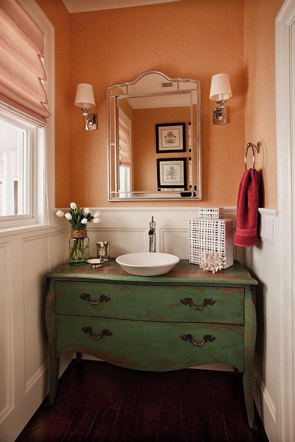 Small Powder Room Design Photos