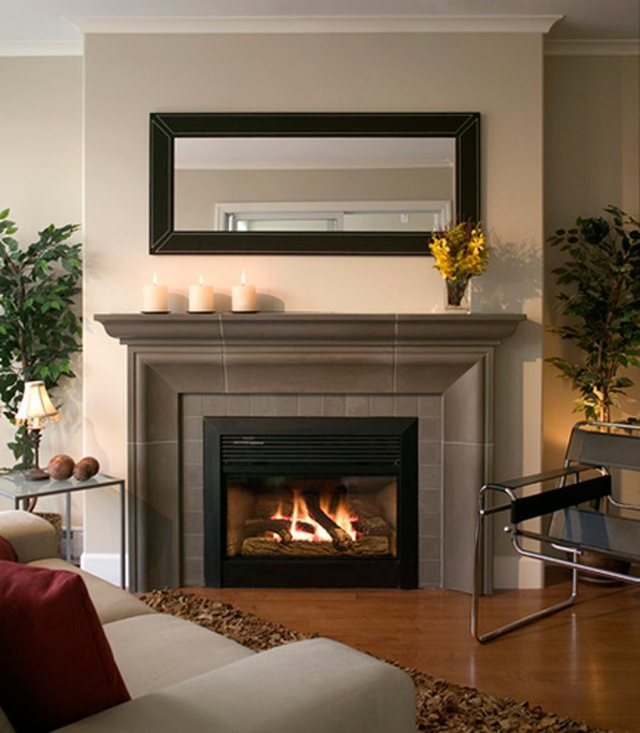 Gas fireplace design photos